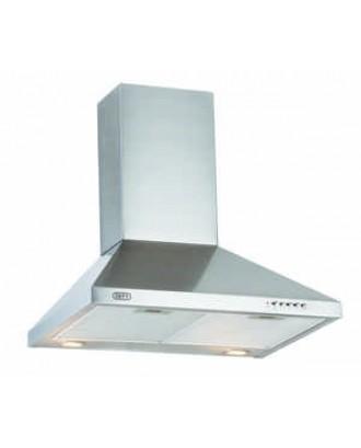 Defy 600 Silver Chimney Cooker hood