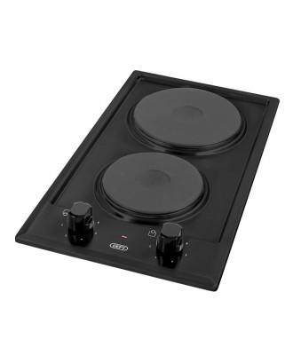 Defy Hob 300 2 Plate Electric Domino Black