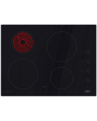 Defy Hob 770 4 Plate Electric Glass Normal Control