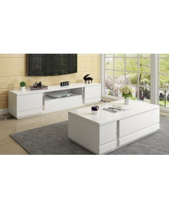 Angelique Combo TV Stand and Coffee Table