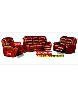 Rocco Motion Suite Full Exotic Leather